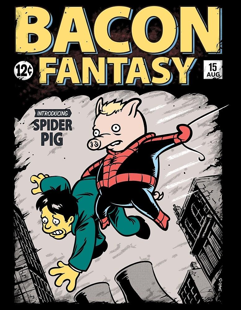 Bacon Fantasy #15 by Nathan Davis