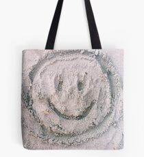 Happy to be at the Beach Tote Bag