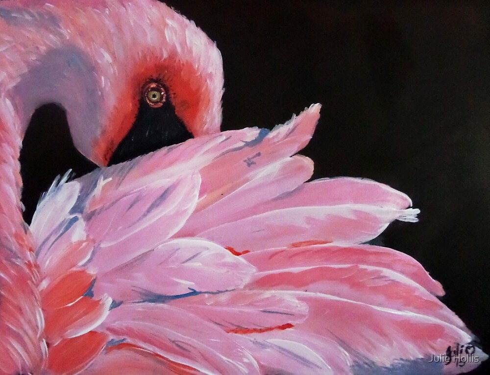 In the Pink - Gorgeous Swan by Julie Hollis