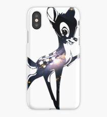 Space Bambi | Barred Spiral Galaxy iPhone Case/Skin