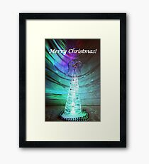 Merry Christmas - Angel No.1 Framed Print