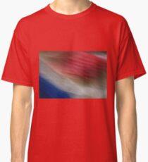 Red White and Blurrrr Classic T-Shirt