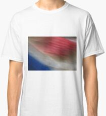 Red White and Blurrrr Classic T-Shirt