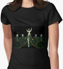 "Art Deco Design by Erte ""Queen of the Night"" T-Shirt"