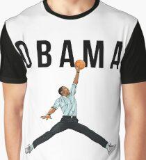 Obama Basketball Mashup Graphic T-Shirt