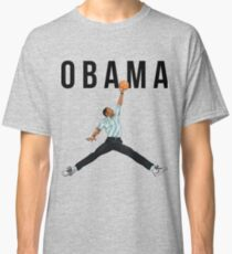 Obama Basketball Mashup Classic T-Shirt