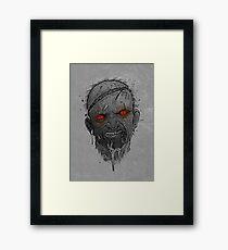 The Undead Man Framed Print