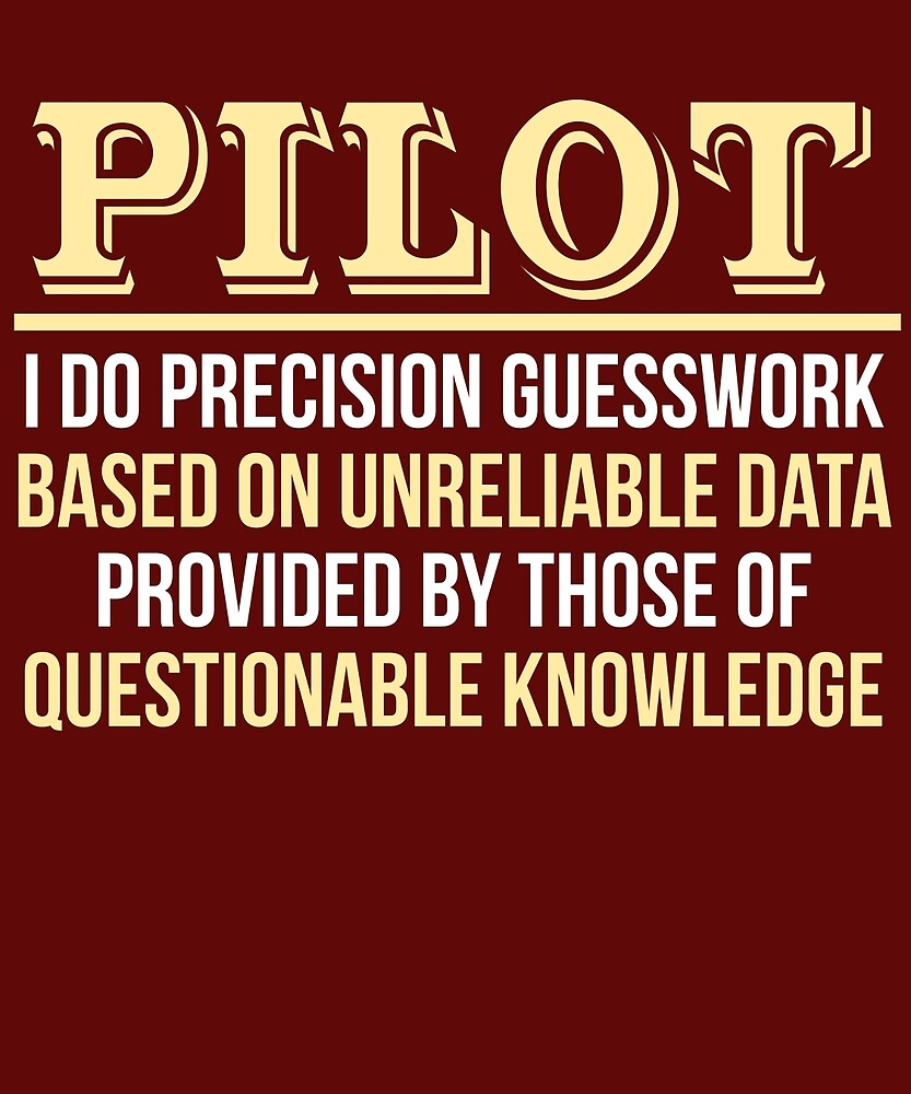 Pilot Definition Funny Commercial Pilot Gift T-Shirt by AlwaysAwesome