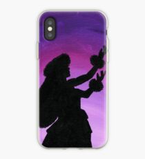 Hula Girl Silhouette iPhone Case