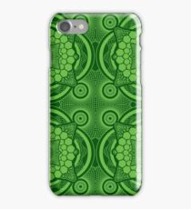 Green Mandala Pattern iPhone Case/Skin