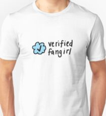 Verified Fangirl | Trendy/Hipster/Tumblr Meme T-Shirt