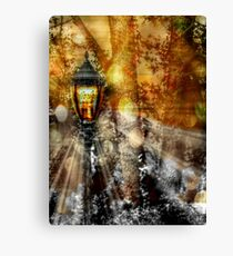 LampPost in Narnia Canvas Print