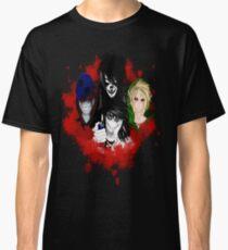 Camiseta clásica creepypasta 2
