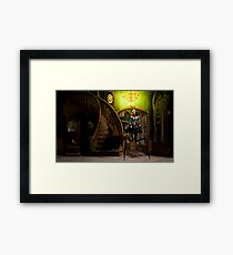 Lilith Wanders the Halls at Night Framed Print