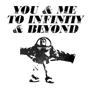 You & Me To Infinity & Beyond by meichi