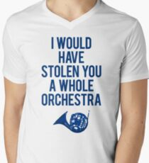 I Would Have Stolen You A Whole Orchestra Men's V-Neck T-Shirt