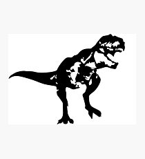 Shadow T-Rex Photographic Print