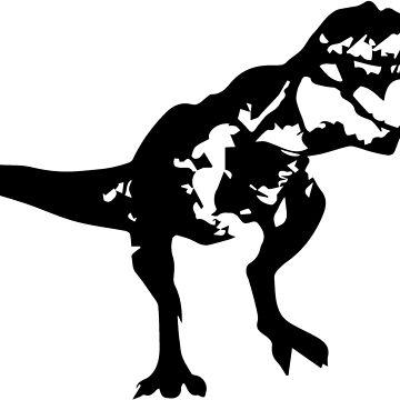 Shadow T-Rex by meichi