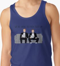 b74f04b53249bb Step Brothers - We re Here To Fuck Shit Up Men s Tank Top
