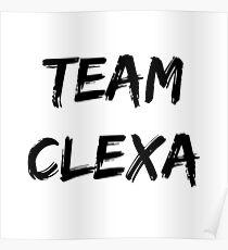 Team Clexa - The 100 Poster