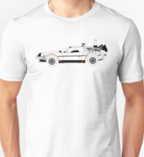 Delorean DMC Back to the Future T-Shirt