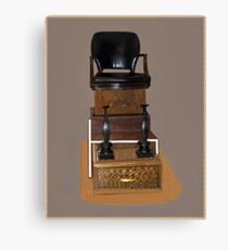 .•*Shoe Shine Stand*•.¸ Canvas Print