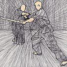 Jo practice by Laurence Mergi Rapoport