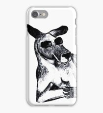 Cool Kangaroo iPhone Case/Skin