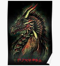 Dragonborn (Green Version) Poster