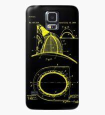 firefighter fireman patent art  Case/Skin for Samsung Galaxy