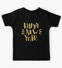 Cute Happy New Year 2018 2019 Kids Tee