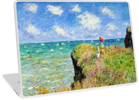 claude monet cliffs at pourville decorative notebook journal 85 x 11