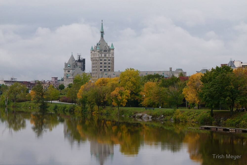 Reflections of Albany, New York, USA by Trish Meyer