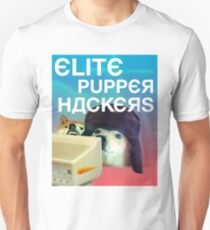 ELITE RUSSIAN HACKERS [large russian lettering edition] T-Shirt