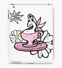 cartoon cup and saucer iPad Case/Skin