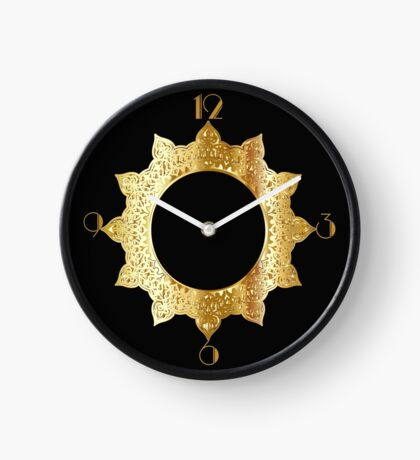 Gold Star Clock