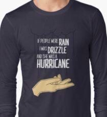 She Was A Hurricane Long Sleeve T-Shirt