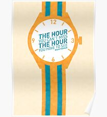 The Hour You Can't Miss Poster