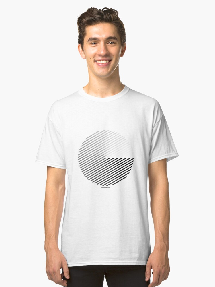 Alternate view of Stripes can be in a disc (BoW) Classic T-Shirt