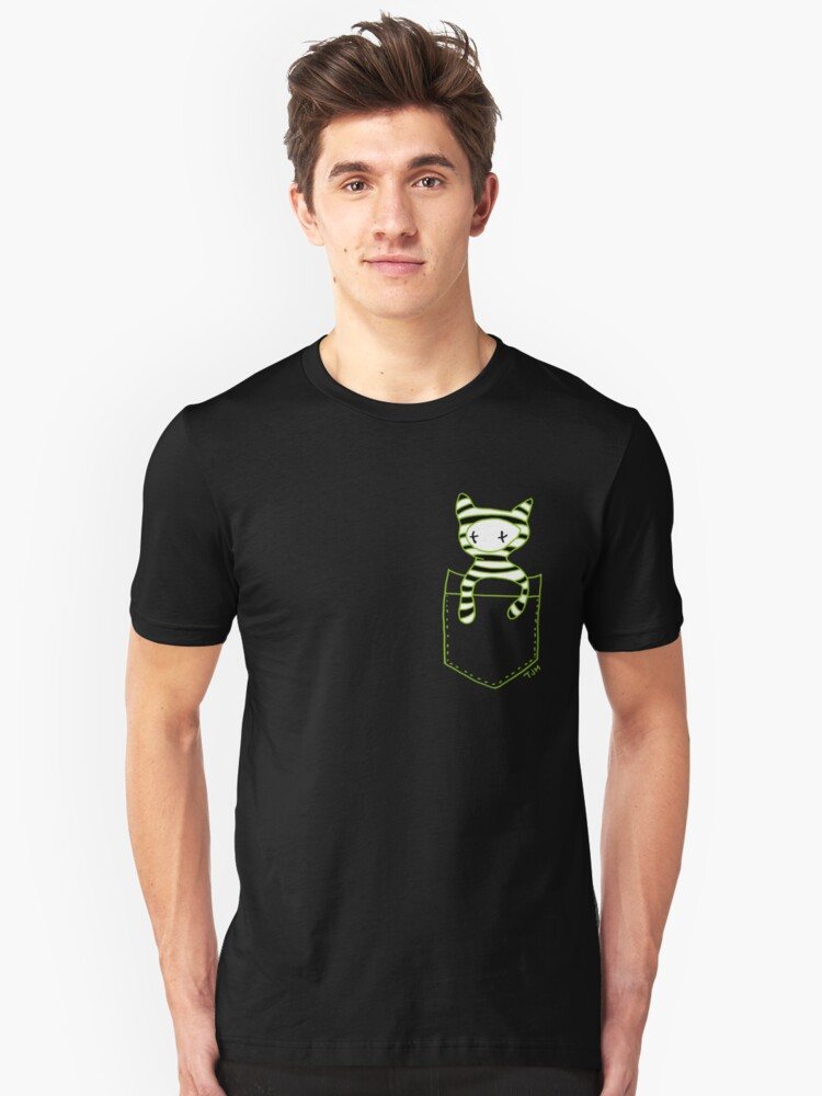 Pocketbuddy3 Unisex T-Shirt Front
