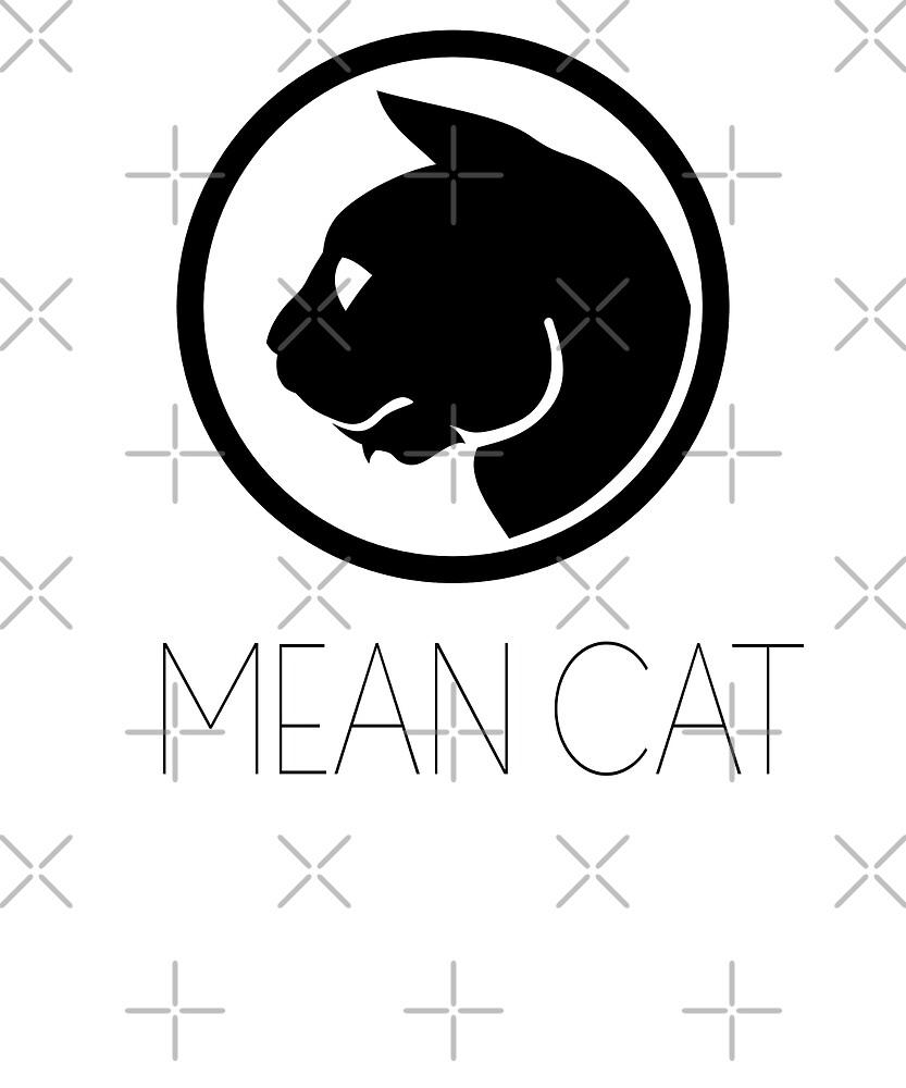 Mean Cat by Dascalescu