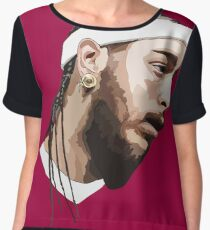 POST MALONE Chiffon Top