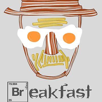 Breakfast with Bacon Breaking Bad Heisenberg by Bukeater
