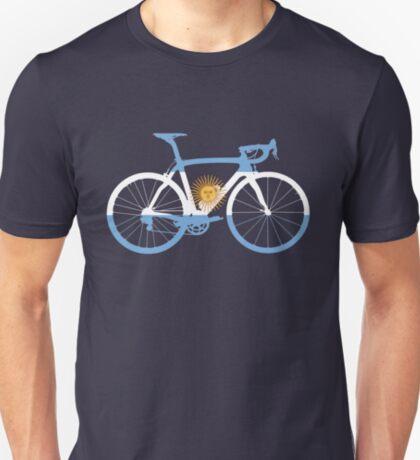 Bike Flag Argentina (Big) T-Shirt