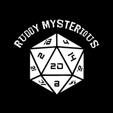 IT Crowd: Dungeons and Dragons: Ruddy Mysterious (D20) - (Quote) by thinkgeek