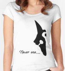 Kindred - Never one Women's Fitted Scoop T-Shirt