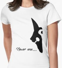 Kindred - Never one Women's Fitted T-Shirt