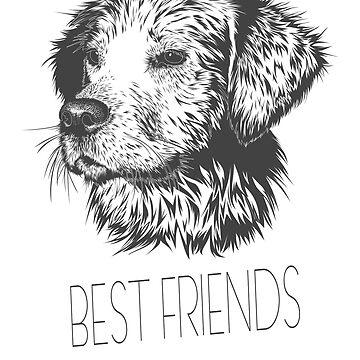 Dog Best Friend by Dascalescu