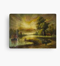Oil Painting nature Canvas Print