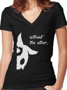 Kindred - Without the other Women's Fitted V-Neck T-Shirt